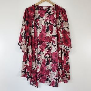 Avenue flowey open blouse cardigan